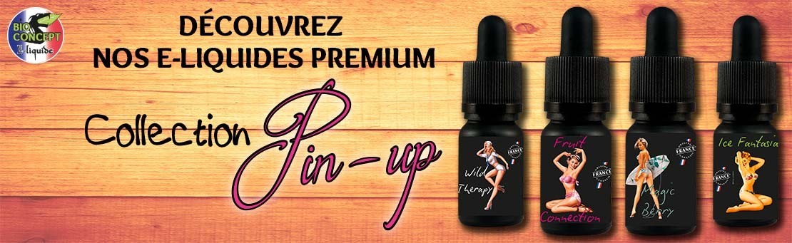 Eliquides premium Pin Up Bioconcept